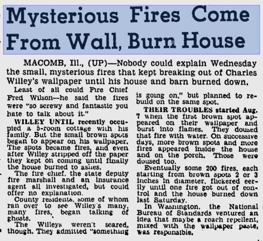 Mystery fire polt case Herald Journal 19 Aug 1948.JPG