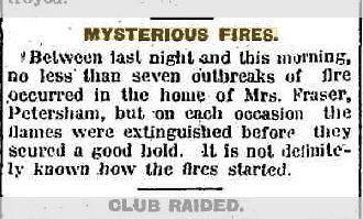 Polt Fire Petershame austrailia The Armidale Chronicle 14 july 1917.JPG