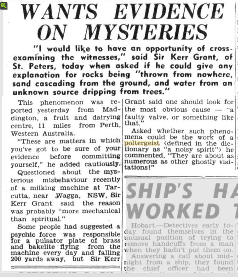 Polt Fruit farm rocks thrown News Adalaid 19 feb 1949.JPG