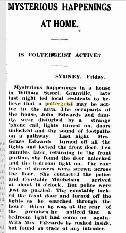 Polt Sydney The Muswellbrook Chronical 27 April 1951.JPG