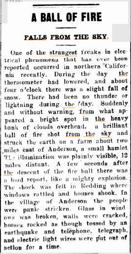 Ball of Fire Wellington Times NSW 9 febr 1922.jpg