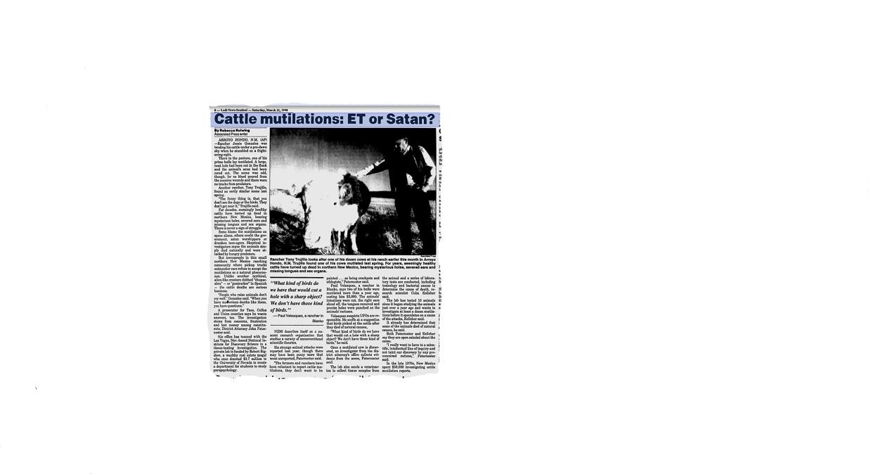 Cattle mutilation lodi news sentinel mar 21 1998.jpg