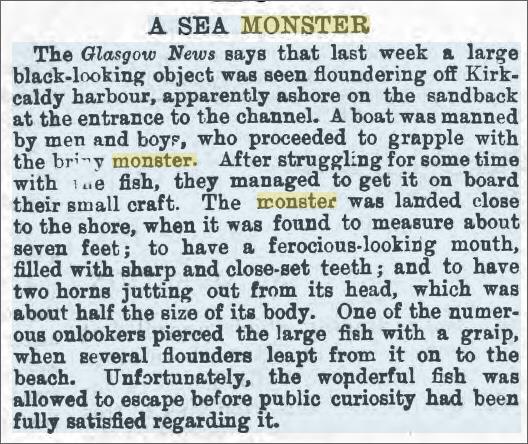 Kirkcaldy Harbour Sea Monster Monmouthsire Merlin 25 Sep 1874.jpeg