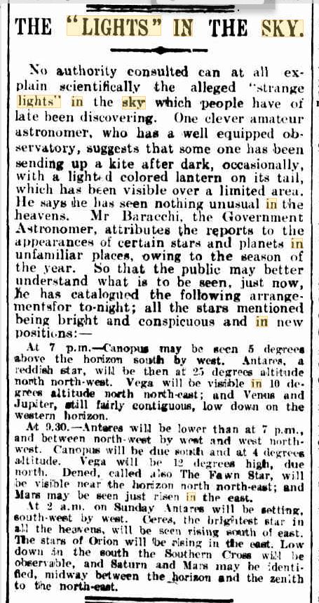 Lights in the Sky Austrailia  The Age Melborne 21 Aug 1909.JPG