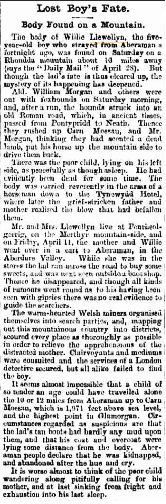 LOST BOYs FATE The Telegraph (Brisbane QLD) 14 June 1902(1).jpg