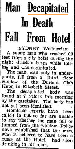 Man Decapitated The Dubbo Liberal and Macquarie Advocate 20 Sept 1950.jpg