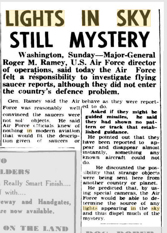 Military comment on flying saucers Barrier Mier 4 Aug 1952.JPG