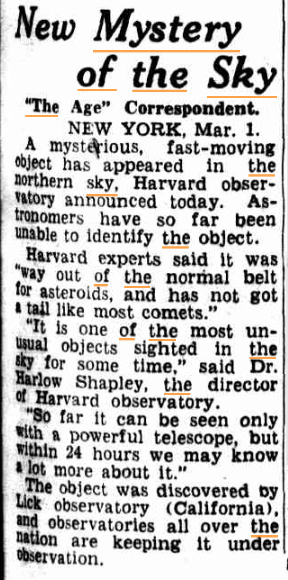 MYSTERY IN THE SKY The Age (Melbourne Vic) 2 March 1950kopie.jpg