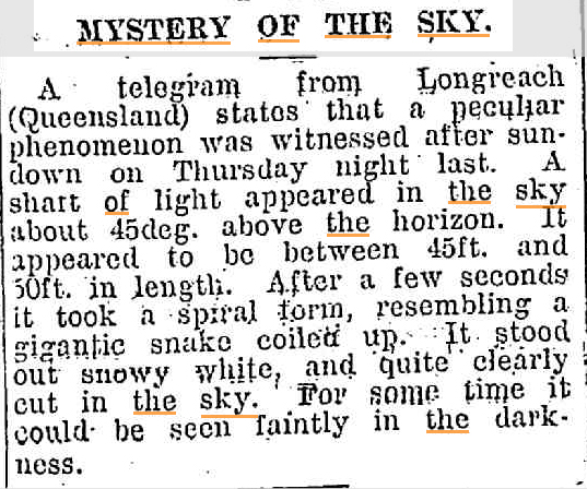 MYSTERY OF THE SKY Huon Times ( Frnaklin Tas) 6 May 1914kopie.jpg