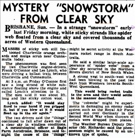 MYSTERY snowstorm The Mercury (Hobart Tasm ) 4 sept 1950(1).jpg