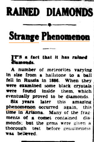 RAINING DIAMONDS Mudgee Guardian and North-Western Representative NSW 22 July 1937.jpg