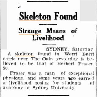 SKELETON FOUND Glen Innes Examiner NSW 31 Dec 1938.jpg