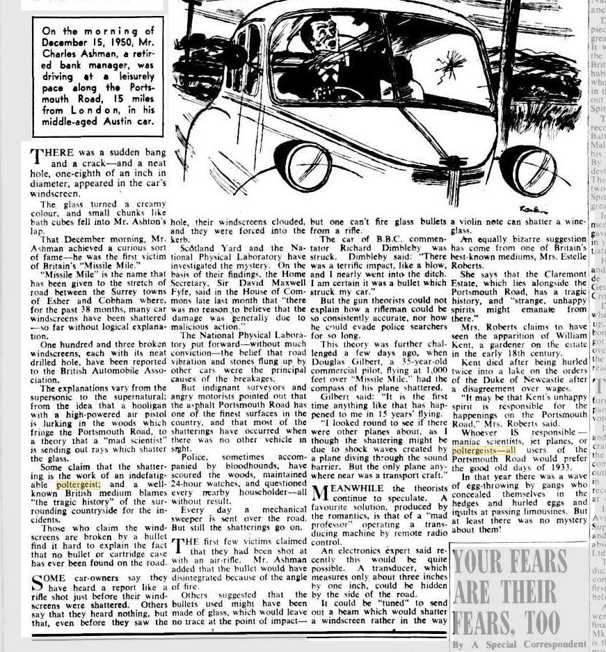 Spiritualist Daniel Dunglass Home The Canberra Times 23 Oct 1971.JPG