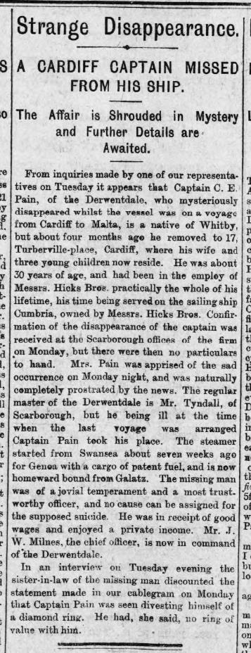 Strange Disapearance Evening Express 25th October 1893.jpg