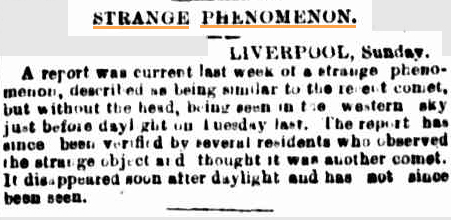 STRANGE LIGHT UFO The Sydney Morning Herald NSW 29 July 1901.jpg