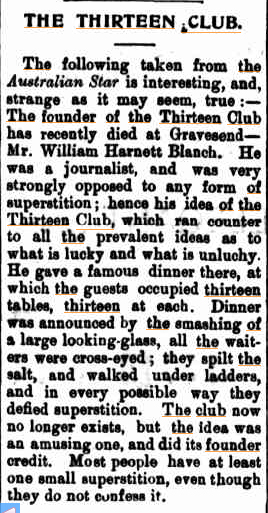 THE THIRTEEN CLUB Hawkesbury Advocate (Windsor NSW) 24 Aug 1900.jpg