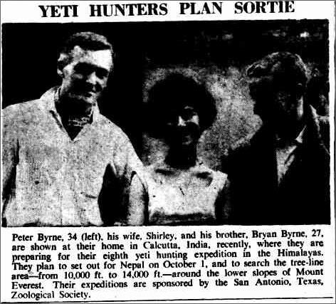 Yeti Hunters, Canberra Times 25 Sep 1959.jpeg