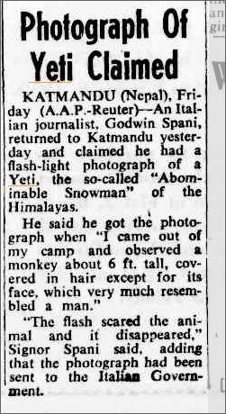 Yeti Photo NO PIC The camberra Times 3 Jan 1959.jpeg