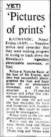 Yeti Prints Mount Everest, The Camberra Times 27 July 1974.jpeg