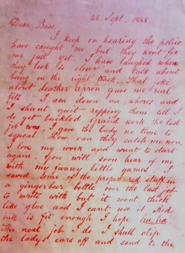DearBossletterJacktheRipper